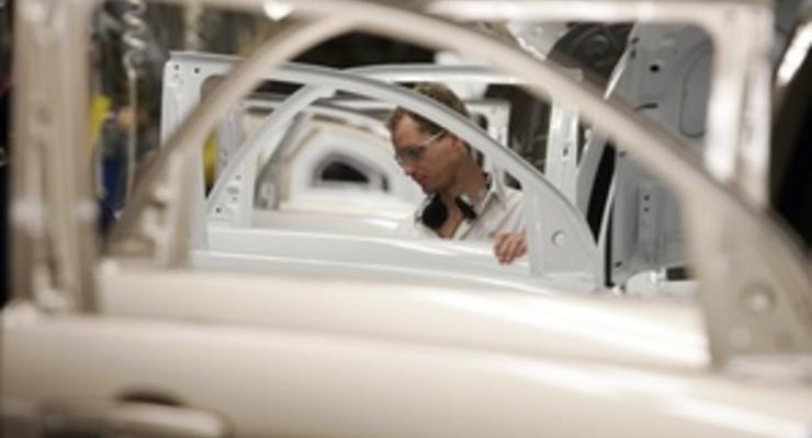 Производство автомобилей в Украине упало на 50%