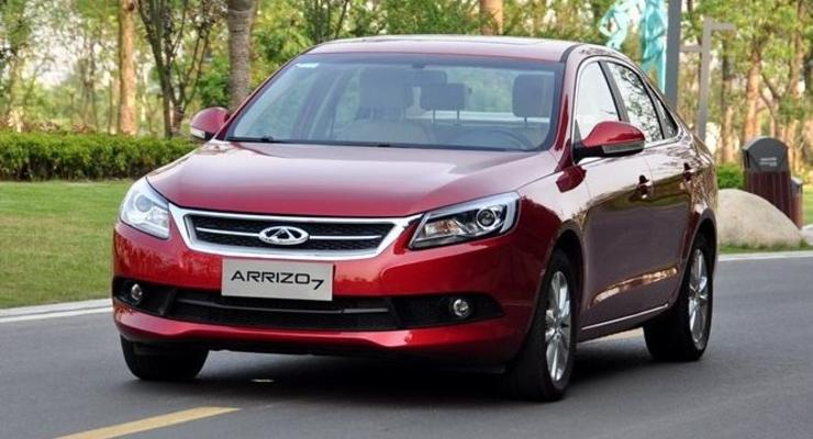 Chery представила Arrizo 7 – новый седан для Европы