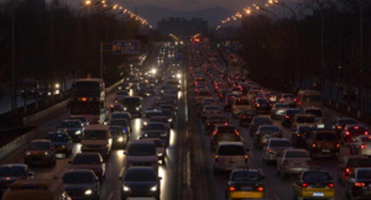 Названы города-лидеры по количеству пробок на дорогах