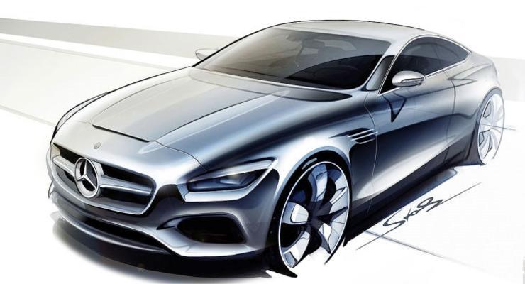 Первые изображения нового купе Mercedes-Benz S-Class