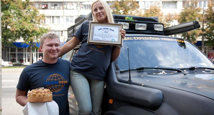 Семья из Запорожья объехала на джипе вокруг света