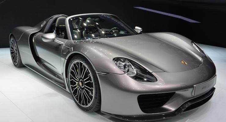 Украинец купил суперкар Porsche за 10 миллионов гривен