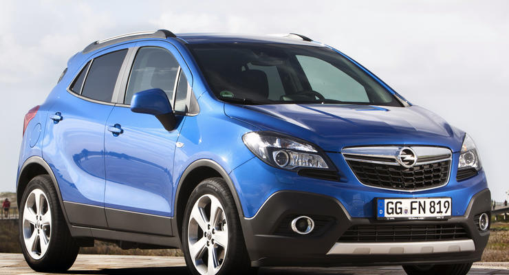 В Украине объявили цены на Opel Mokka и Adam