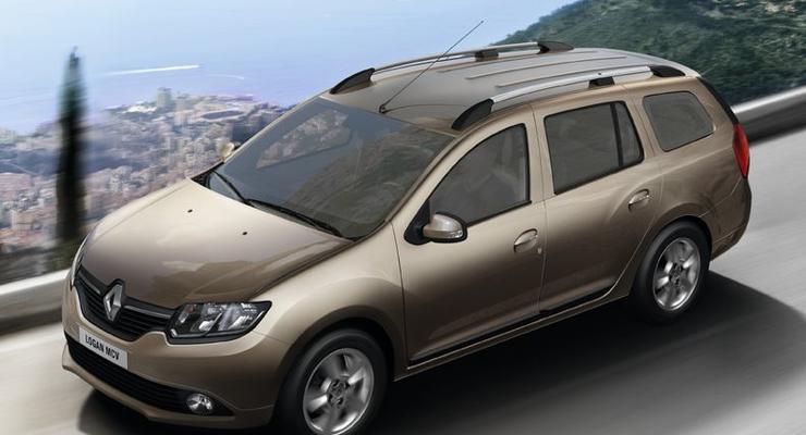 Новый Renault Logan MCV выходит на украинский рынок