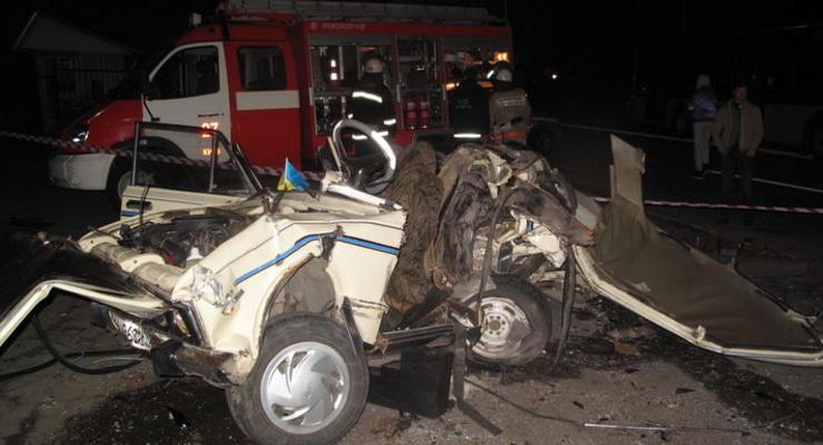 В Киеве милиция спасла устроившего погром водителя