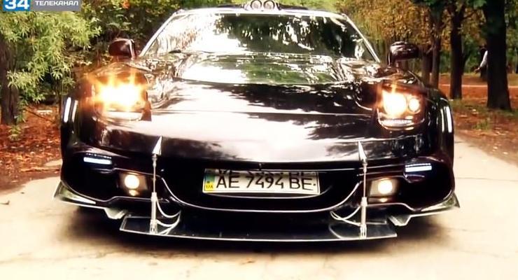 Украинец сделал суперкар с двумя моторами (ВИДЕО)