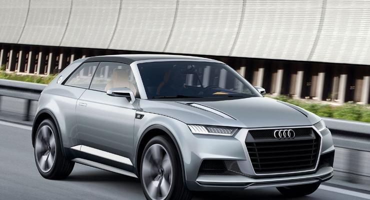 Маленький кроссовер Audi будет стоить 20 тысяч евро