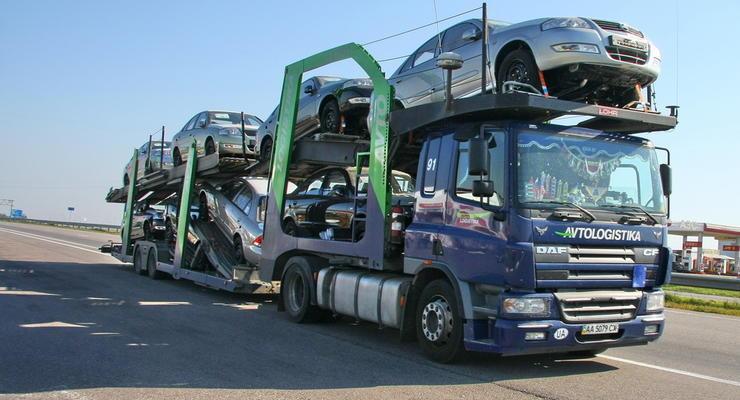 Утилсбор: Киев заплатил 8,7 миллиона за 760 машин