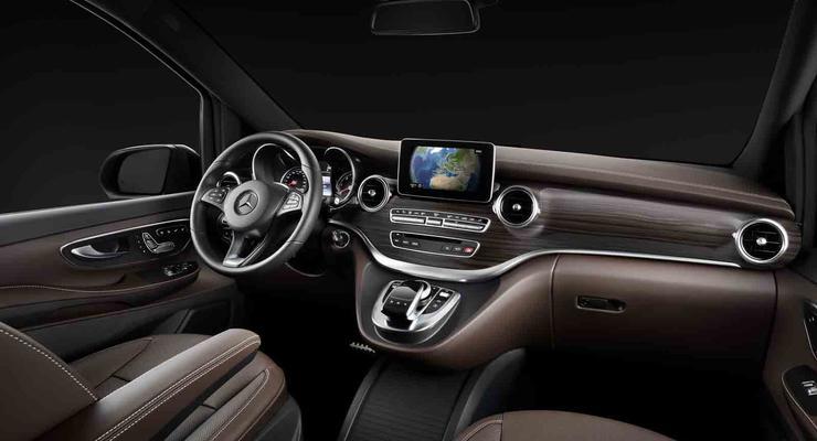 Mercedes V-Class: первые фото роскошной модели