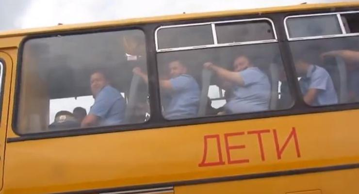 Осторожно: дети! Полицейские в школьном автобусе