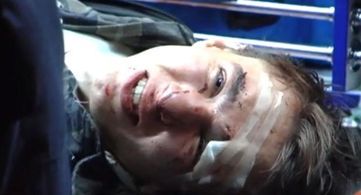 В Киеве студент расстрелял джип из винтовки (ВИДЕО)