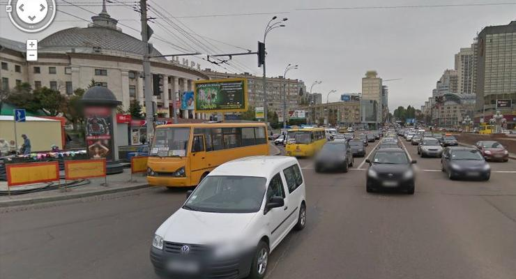 Видеоподборка бестолковых ДТП на площади Победы