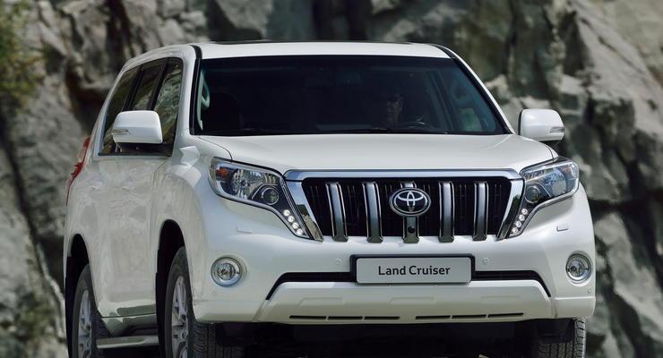 Новый Toyota Land Cruiser Prado в Украине: фото и цены