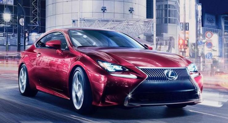 Японцы рассекретили новое спортивное купе Lexus RC