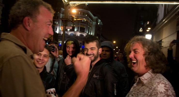 Top Gear в Киеве: Кларксон о дорогах, погоде и бензине