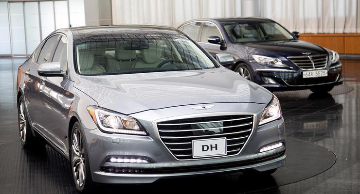Премьера нового Hyundai Genesis. Премиум по-корейски
