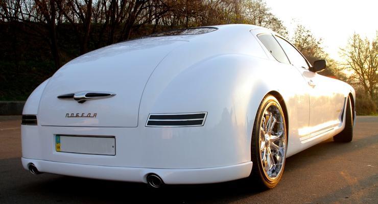 Киевлянин сделал роскошную Победу в духе Bugatti (ФОТО)