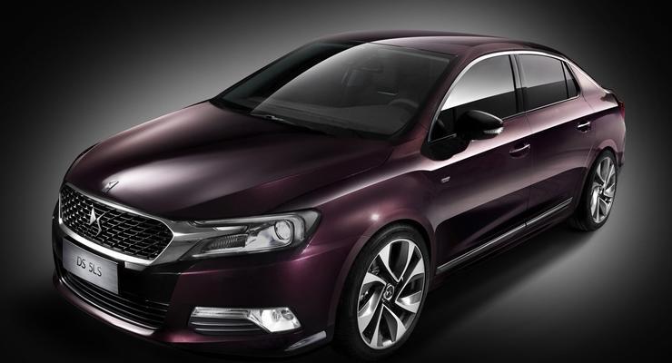 Citroen представил роскошный седан премиум-класса