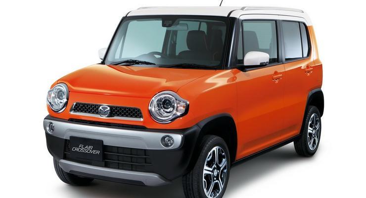 Mazda выпустила на рынок миниатюрный паркетник