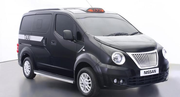Новое такси Nissan для Лондона удивило дизайном