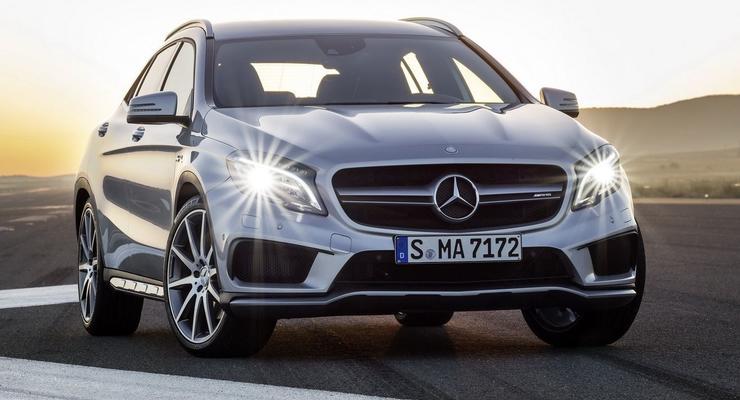 Кроссовер Mercedes GLA стал самым мощным в классе