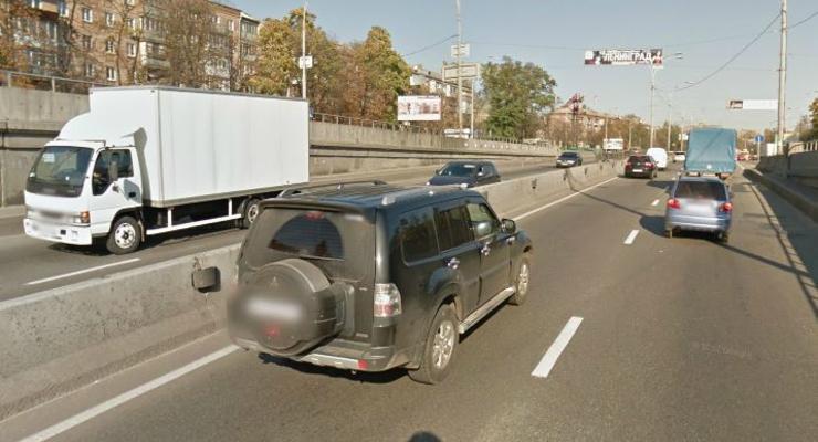 Названы самые аварийные места Киева (КАРТА)