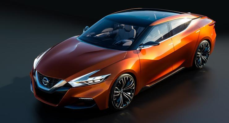 Nissan представил в США прототип спортивного седана
