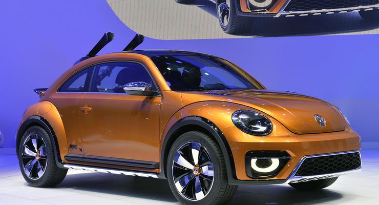 Volkswagen сделал знаменитый Жук внедорожным