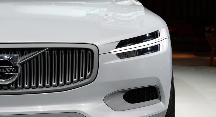 Внедорожное купе Volvo показали миру в Детройте