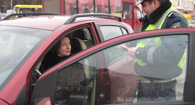 Вступили в силу новые штрафы. Езда без прав - 2550 грн
