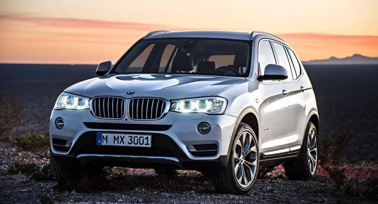 BMW X3 обновился и получил экономичный дизель