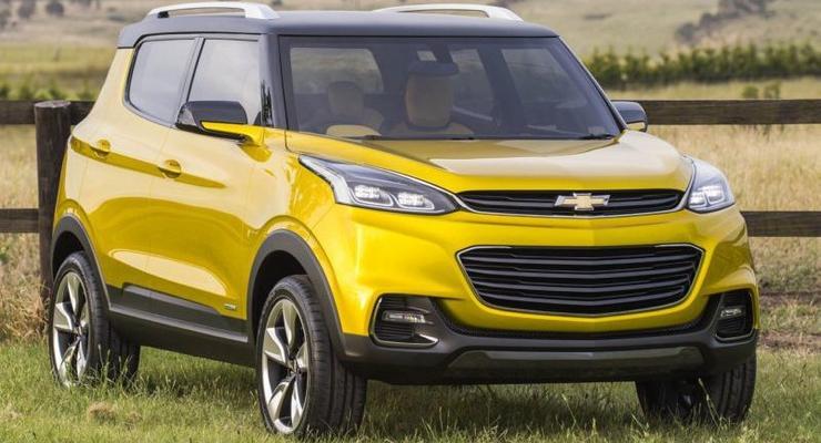 Chevrolet показала прототип дешевого паркетника