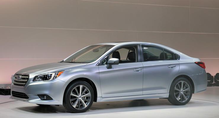 Состоялась премьера Subaru Legacy нового поколения
