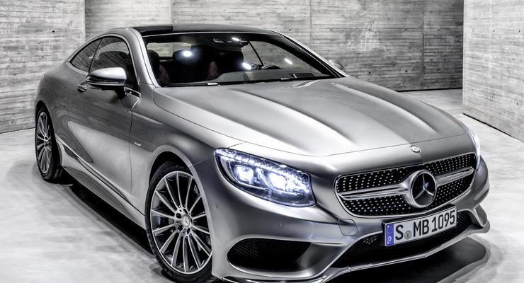 Новый Mercedes-Benz S-Class лишился задних дверей