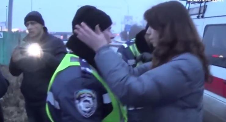 Дзиндзя и Чорновол отбили «атаку» ГАИ на Автомайдан