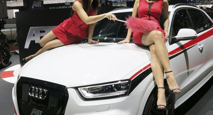 Лучшие девушки Женевского автосалона 2014 года