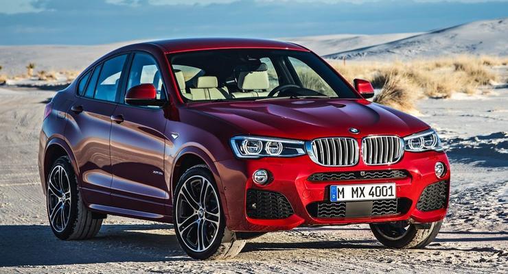 Кроссовер BMW X4 стал серийным. Объявлены цены