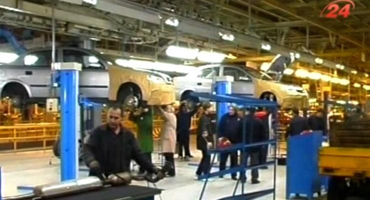 Объемы автопроизводства в Украине выросли вдвое