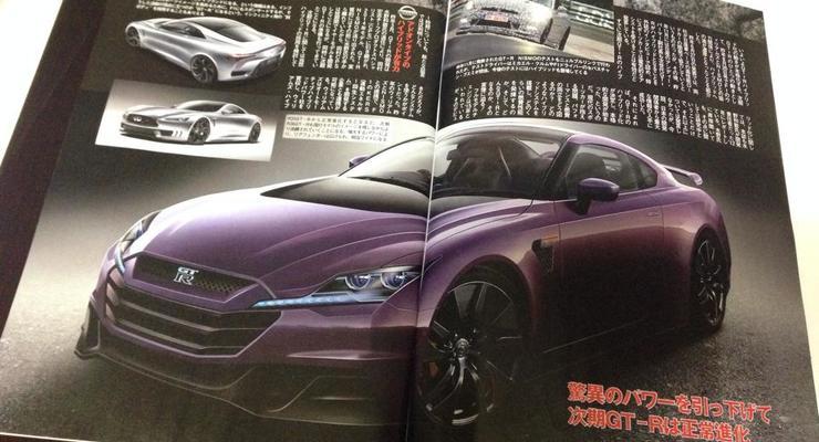 Следующий Nissan GT-R будет 800-сильным гибридом