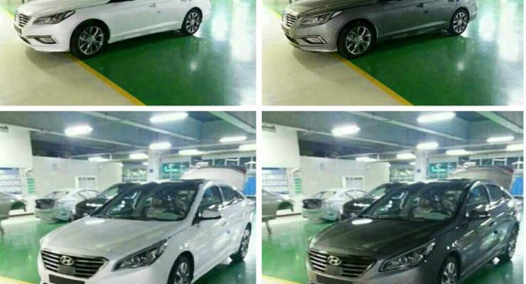 Новое поколение Hyundai Sonata засняли без камуфляжа
