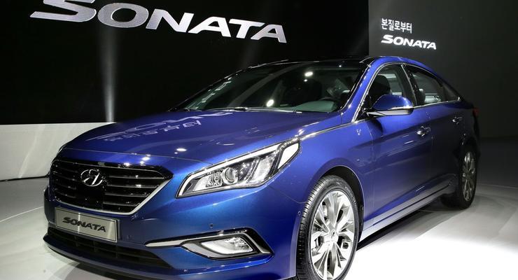 Корейцы рассекретили Hyundai Sonata нового поколения
