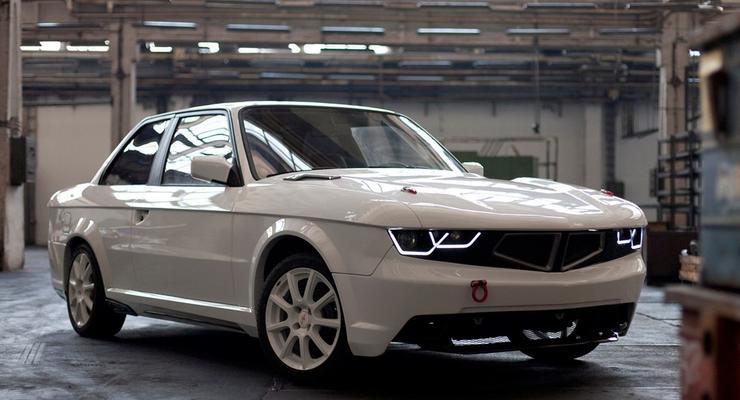 Тридцатилетний BMW превратили в новый спорткар