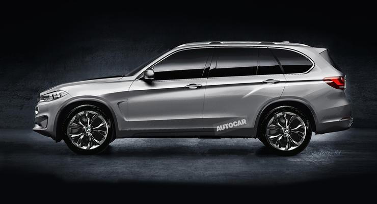 BMW начал разработку большого внедорожника X7