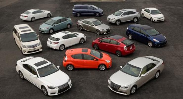 Toyota отзывает из-за дефектов 6,5 млн автомобилей