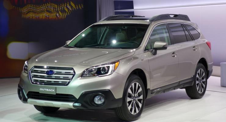 Прошла премьера Subaru Outback нового поколения