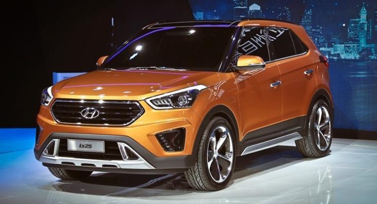 Корейцы рассекретили новый кроссовер Hyundai ix25