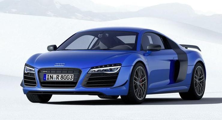 Audi представила первую модель с лазерными фарами