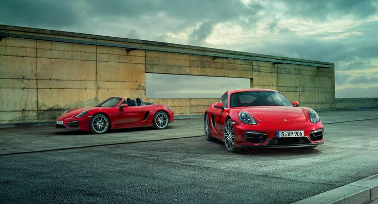 Porsche получат 1,6-литровые четырехцилиндровые двигатели