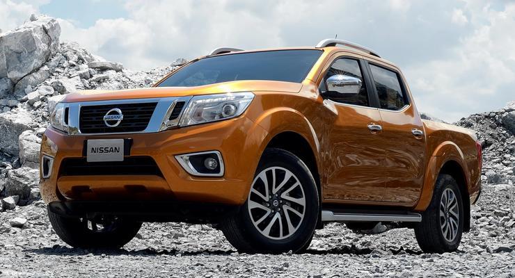 Японцы рассекретили пикап Nissan Navara нового поколения