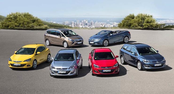 Летние сюрпризы от Opel